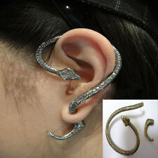 Vintage Gothic Punk Sexy Snake Shape Cuff Stud Wind Temptation Earring 4 Colors