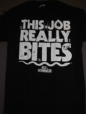 Billy the Exterminator This Job Really Bites T-Shirt **NEW television tv show