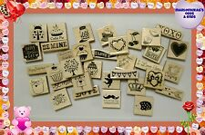 New You Choose Valentines Day WM Rubber Stamps! Scrapbooking Holidays FAST S+H!