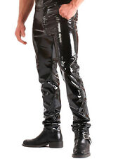 PVC Mens Classic Trousers Jeans Style - Black Size 28 to 40 | Sexy & Fetish