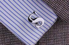 New Men`s Wedding Party Letter Cufflinks, Letter A To Z Christmas New Year Gift