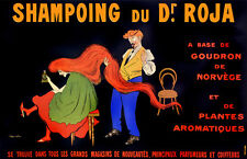 2512. Shampoing du Dr. Roja Ad Art Decoration POSTER. Home Graphic Design.