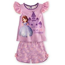 SoFiA the FiRsT~PriNceSS~PJ~Pajamas~Girls 2/3 to 10~NWT~Disney Store~Junior~2013