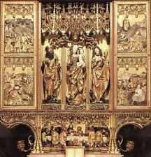 Photo Print High Altarpiece of St. James Master Paul Of Lcse - in various siz