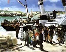 Photo Print Departure of the Folkestone Boat Manet, Edouard - in various sizes j