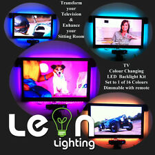 Plasma LCD TV Colour Changing Back Light kit with remote 4 x RGB Settings