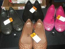CROCS WOMENS SUPER MOLDED PATENT FLAT SHOE  NEW FREE SHIPPING IN THE USA!