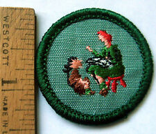 Vintage 1960-1980 Girl Scout STORYTELLER BADGE Family History Patch Choose Type!
