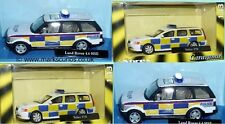 CARARAMA 1/43 - UK POLICE CARS - LAND ROVER / VOLVO V70 - SELECT MODEL REQUIRED