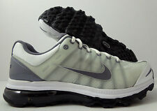 Nike Air Max+ 2009 Flywire White Charcoal Running Shoes New 486978-102 Sz 7