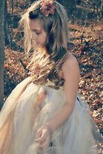 flower girl holiday party birthday photograph Tutu dress size 0 up to young girl