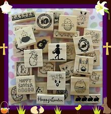 New You Choose Easter Themed WM Rubber Stamps! Embellish Huge Selection Fast S+H