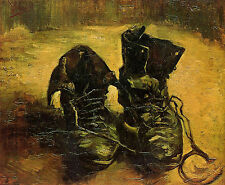Art Photo Print - Pair Of Shoes - Gogh Vincent Van 1853 1890