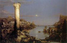 Art Photo Print - Course Of Empire Desolation - Thomas Cole 1801 1848