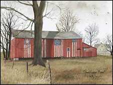 Art Print, Framed, Plaque By Billy Jacobs - Americana Barn - BJ157