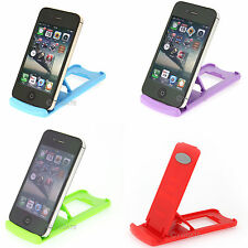 Multi Color Universal Portable Folding Holder Stand for iPhone Cell Phone Tablet