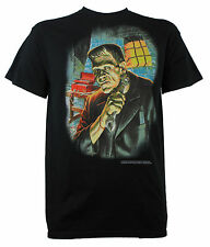 Authentic UNIVERSAL MONSTERS FRANKENSTEIN Getting Ready T-Shirt S M L XL XXL NEW