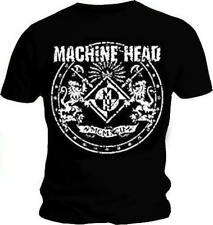 Official T Shirt MACHINE HEAD Distressed CLASSIC CREST Vintage Logo All Sizes