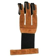 GLOVE TRADITIONAL ARCHERY SHOOTING LEATHER GLOVE AG304