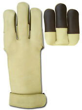 GLOVE TRADITIONAL ARCHERY SHOOTING LEATHER GLOVE AG300B