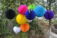 """6"""",8"""",10"""",12"""" honeycomb ball/bell paper lanterns Party wedding Decorations 4003"""