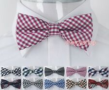 1PC Mens Pre-tied Polyester Tuxedo Groom Groomsman Wedding Dress Necktie BowTie