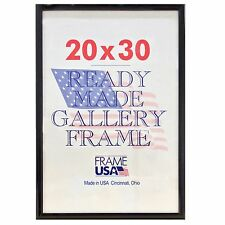 20x30 Deluxe Poster Frame Pack of 12 Frames - Black, Silver or Gold