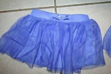 ~ GIRL ~ 4t 18 month ~ tutu periwinkle purple  FADED GLORY skirt