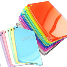 TPU Silicone Cell  Case Soft Color Crystal Skin Cover for Apple iPad Mini Lot