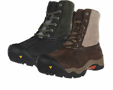 Keen Mens Incline Mid Black or Brown Insulated Waterproof Snow Winter Boots