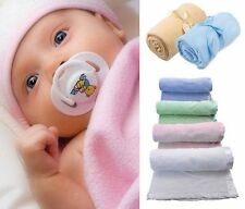 Warm Fuzzy Plush Fleece Baby Crib Blankets Throw Special Holiday Price