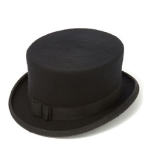 New Christys' Dressage Hat Wool Felt. - Riding Top Hat in Black or Navy