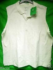 LIZCLAIBORNE GOLF PIMA COTTON WOMENS NON- SLEEVE  SHIRT