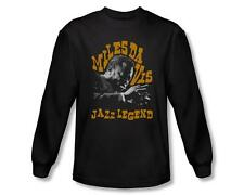 Miles Davis Jazz Legend Jazz Concord Music Licensed Adult Long Sleeve T Shirt