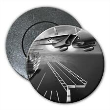 Army Jet Taking off From Sea Carrier Fridge Magnet