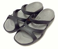 Crocs Meleen Black / Smoke US Women Size 5 6 7 8 9 10 11
