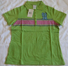 Girl Scout Lime Green JUNIOR POLO T-SHIRT Official Casual Uniform Top NEW Blouse