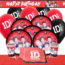 OFFICIAL - ONE DIRECTION 1D PARTY RANGE BIRTHDAY DECORATIONS SUPPLIES ALL ITEMS