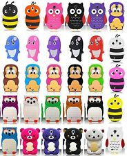 For Samsung Galaxy S4 4 IV I9500 Cover 3D Silicone Animal Case