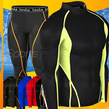 New Mens Compression Under Base Layer Gear Shorts Wear Armour Shirt and Pant Set