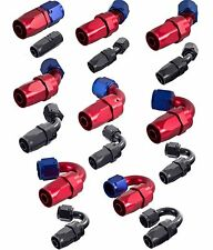 APS Anodised Female Hose End Re-Usable Swivel Fuel/Oil Hose Fitting/Connector