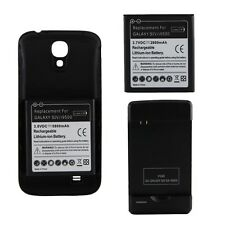Samsung Galaxy S4 IV i9500 I9505 Extended Battery Wall Charger B600BU New B600BC