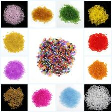 2000pcs Nice Colorful Transparent Czech Glass Seed Spacer beads 2mm Color U Pick