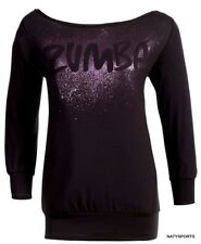 Zumba Front 'N' Center Top - Black