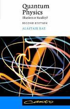 Quantum Physics: Illusion or Reality? (Canto) by Alastair I. M. Rae
