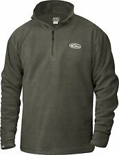 Drake Waterfowl Men's 1/4 Zip Camp Fleece Pullover CHOOSE SIZE AND COLOR