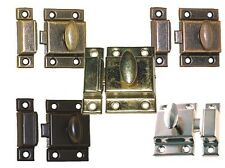 LARGE STEEL ECONOMY CUPBOARD, CABINET TURN, LATCH,  5 Finishes, Pkg. of 2