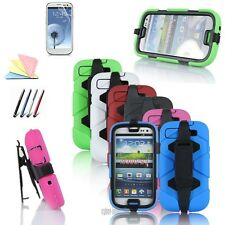 ShockProof Armor Military Heavy Duty Case Cover For Samsung Galaxy S3 S4 Note 2