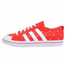 Adidas Originals  Honey Stripes Low W 2013 New Red Heart Womens Casual Shoes