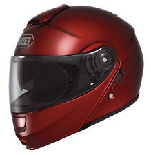 Shoei NeoTec Modular Helmet Wine Free Size Exchanges